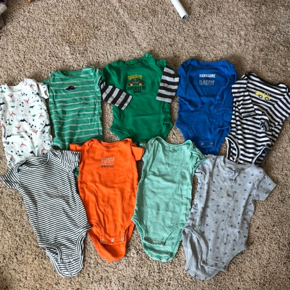 Carter's Other - 9m baby boy onesies